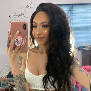Human Hair Curly Lace Frontal Wig